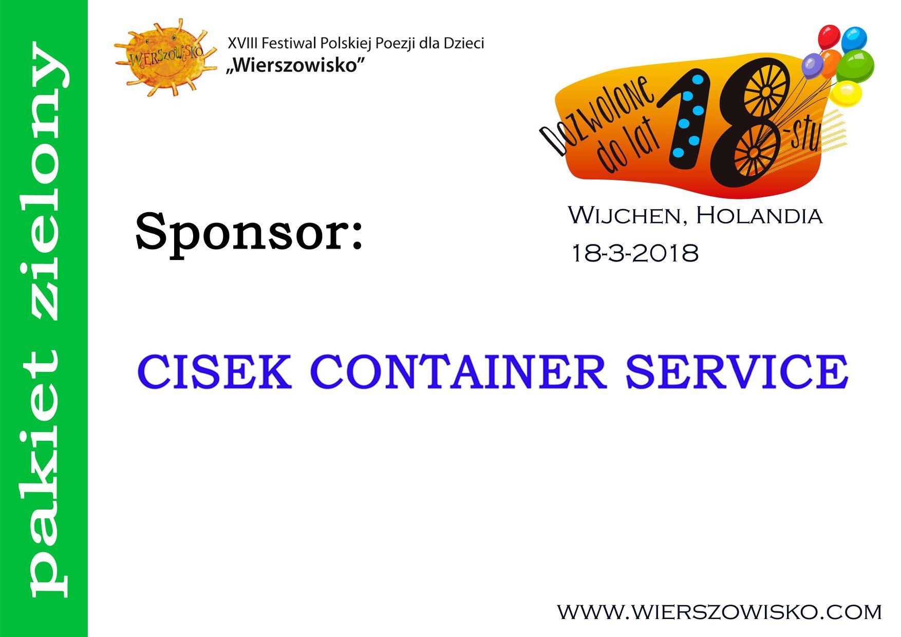 Cisek Container